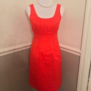 J Crew suiting women's dress in size 2.  Orange